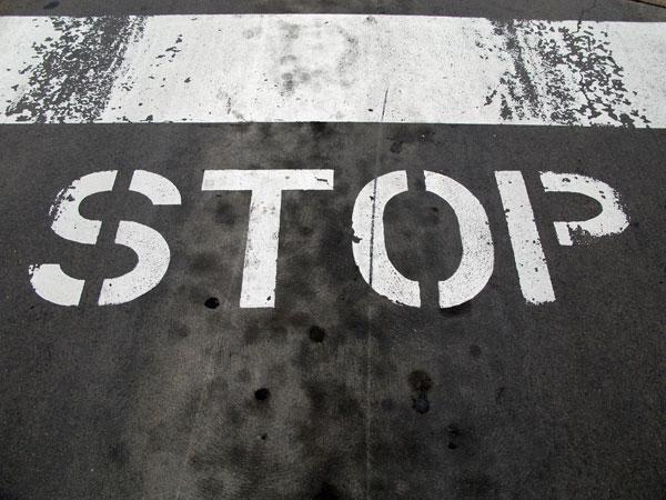 Stop. Stop. Stop.
