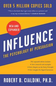 Dr. Robert Cialdini - Influence - Book cover